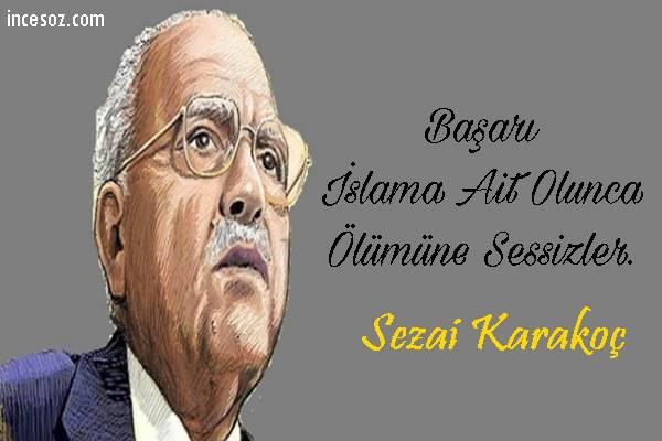 Sezai Karakoç Sözleri