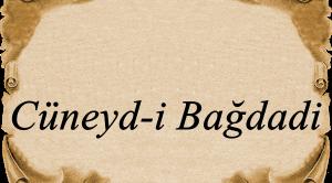 Cüneyd-i Bağdadi Sözleri