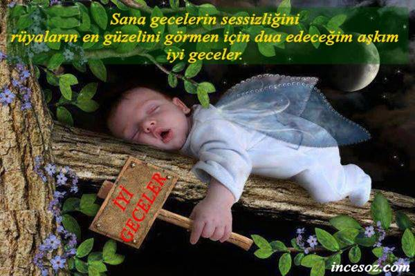 Sevgiliye İyi Geceler Mesajları