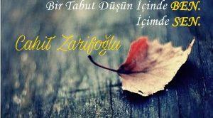 Cahit Zarifoğlu Sözleri