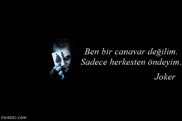 Joker Sözleri ve Replikleri