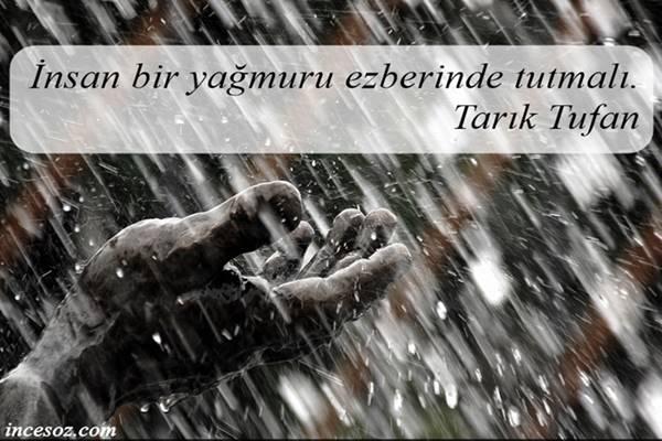 Yağmur İle İlgili Sözler