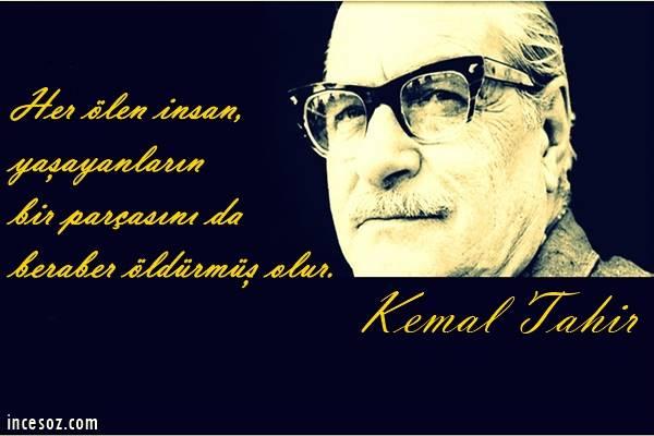 Kemal Tahir Sözleri