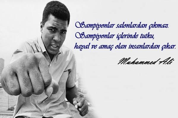 Muhammed Ali Sözleri