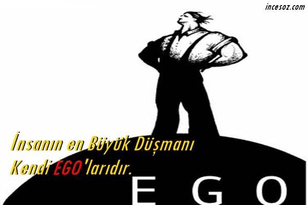 Ego ile İlgili Sözler