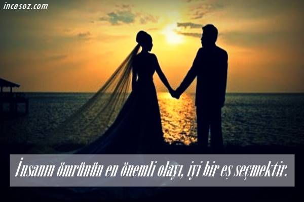Evlilik İle İlgili Sözler