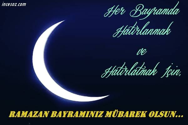 Ramazan Bayramı Sözleri