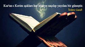 Kur'an-ı Kerim ile İlgili Sözler