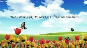 İlkbahar ile İlgili Sözler