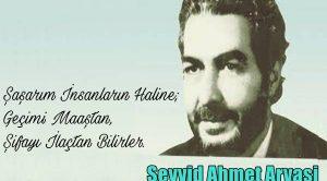 Seyyid Ahmet Arvasi Sözleri