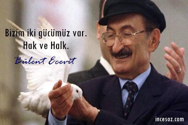 Bülent Ecevit Sözleri