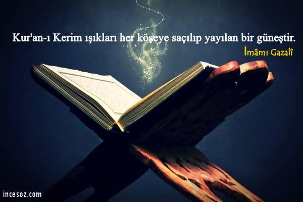 Kuran ı Kerim ile İlgili Sözler