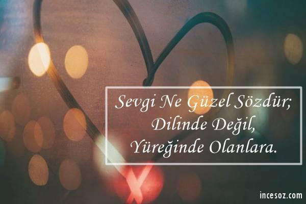 Sevgiliye Özel Aşk Mesajları