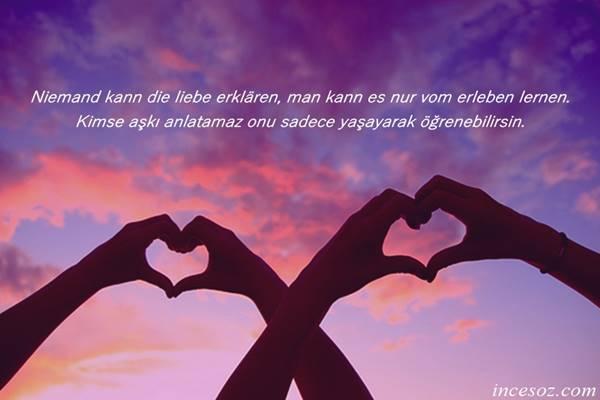 Almanca Sevgi Sözleri