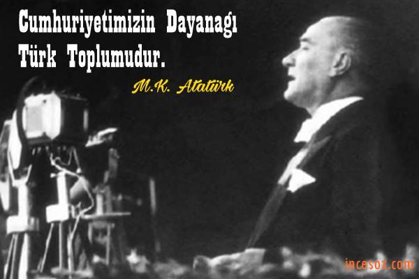Atatürk'ün Cumhuriyet Hakkında Sözleri