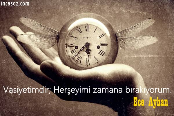 Ece Ayhan Sözleri