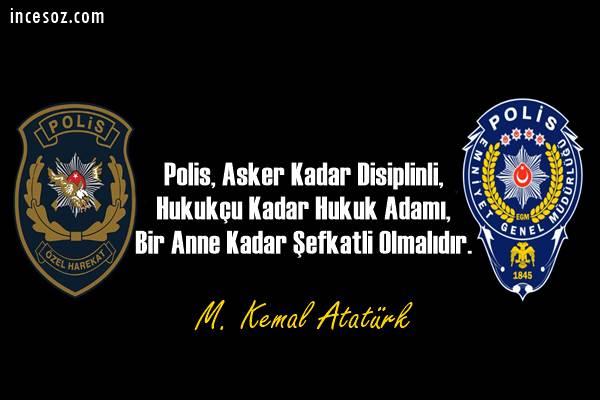 Polisler ile İlgili Sözler