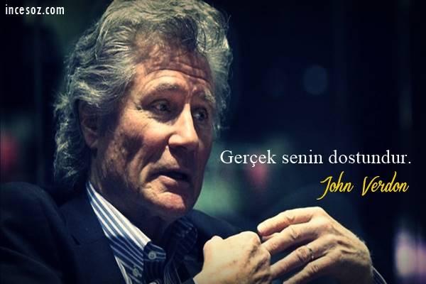 John Verdon Sözleri