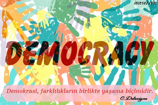 Demokrasi İle İlgili Sözler