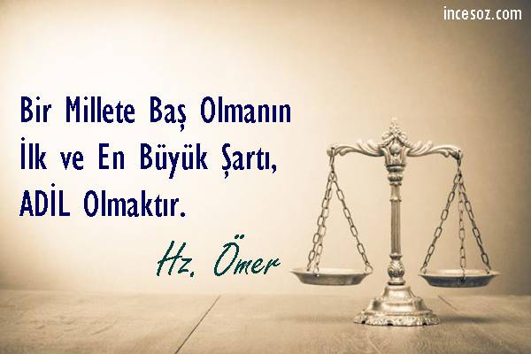 En Güzel Adalet Sözleri