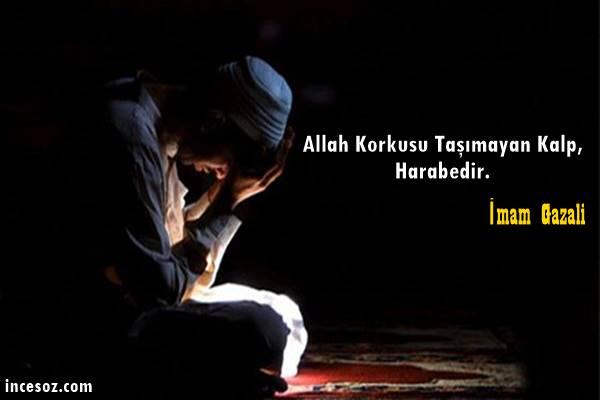 Allah Korkusu Hakkında Sözler