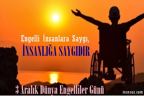 Dünya Engelliler Günü Mesajları